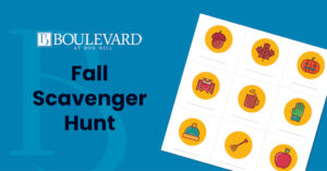 Fall Scavenger Hunt at the Boulevard at Box Hill